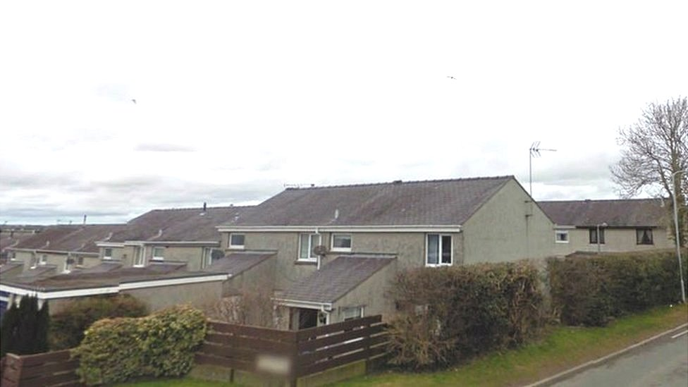 Social housing at Llangefni, Anglesey