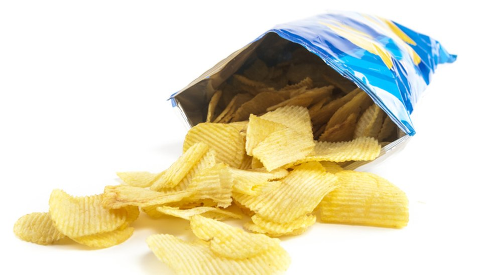 A stock image of a crisp packet