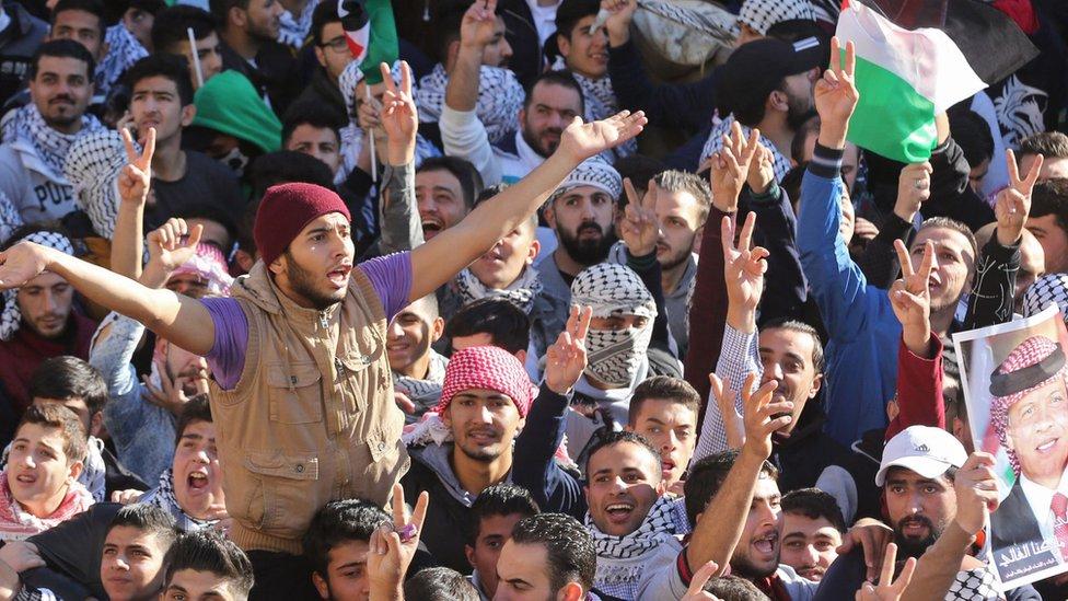 Aksi di Amman
