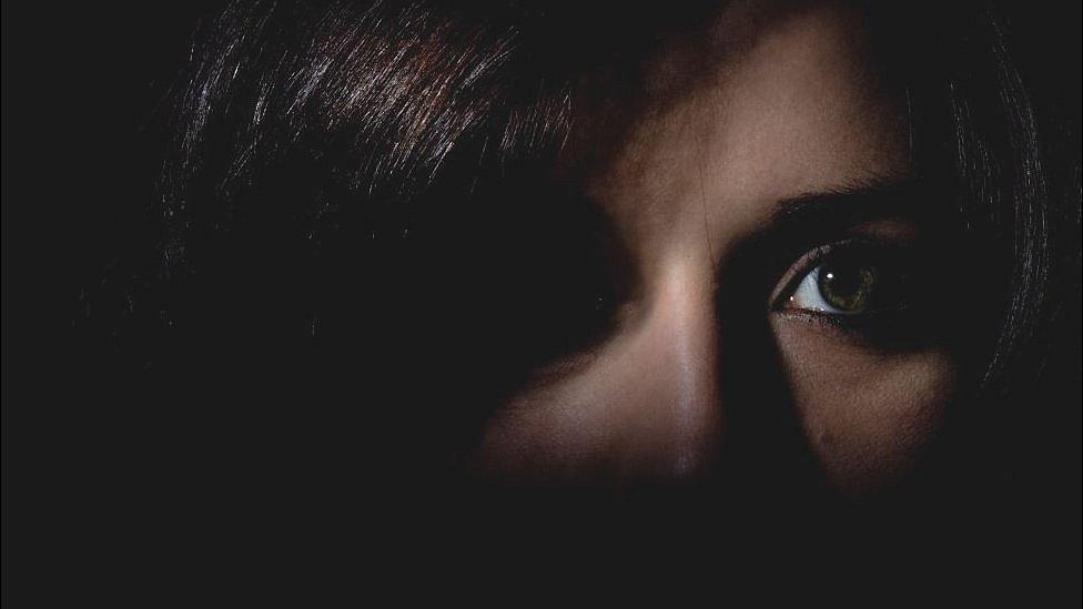 Ojos de una mujer