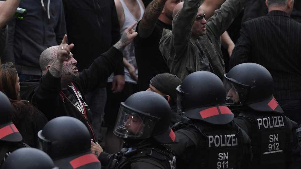 Protest u Kemnicu