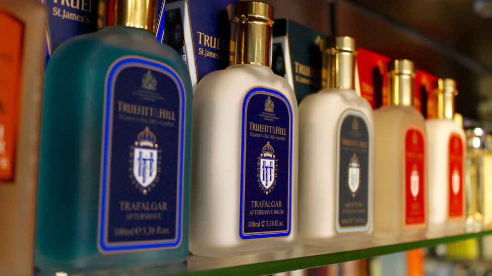 Male grooming products from Truefitt & Hill