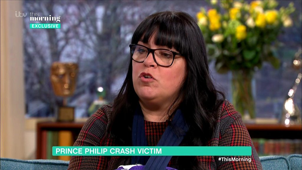 Prince Philip crash was 'surreal' says injured woman