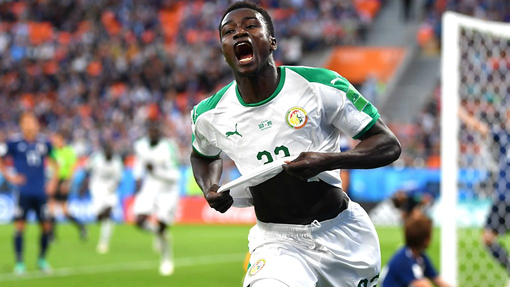 World Cup 2018: Wague smashes home his first international goal to give Senegal the lead