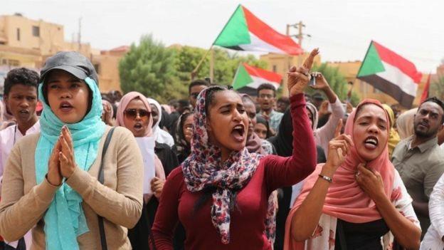 Unjuk rasa terjadi selama berbulan-bulan di Sudan.