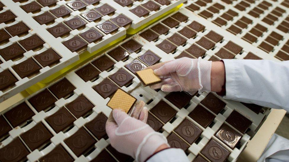 Bahlsen producción de galletas