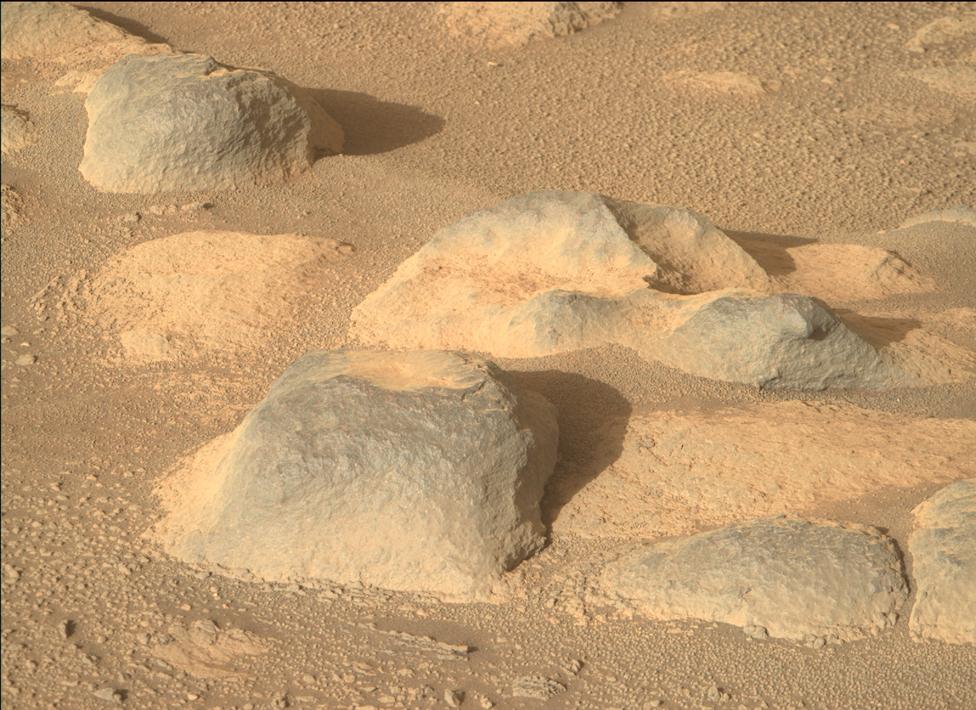 Rocas de Marte.