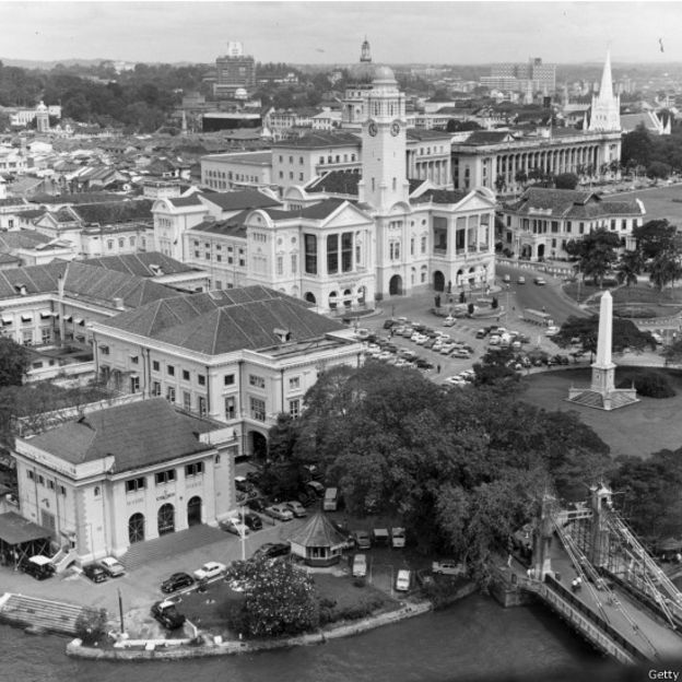 Singapur en 1965