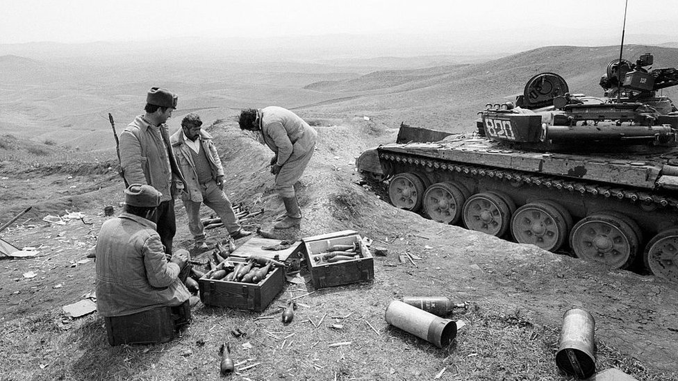 Armenian forces in Nagorno-Karabakh, 1993