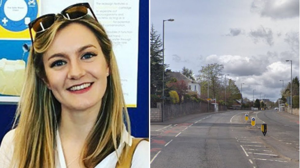 Woman, 21, named after fatal crash in Giffnock