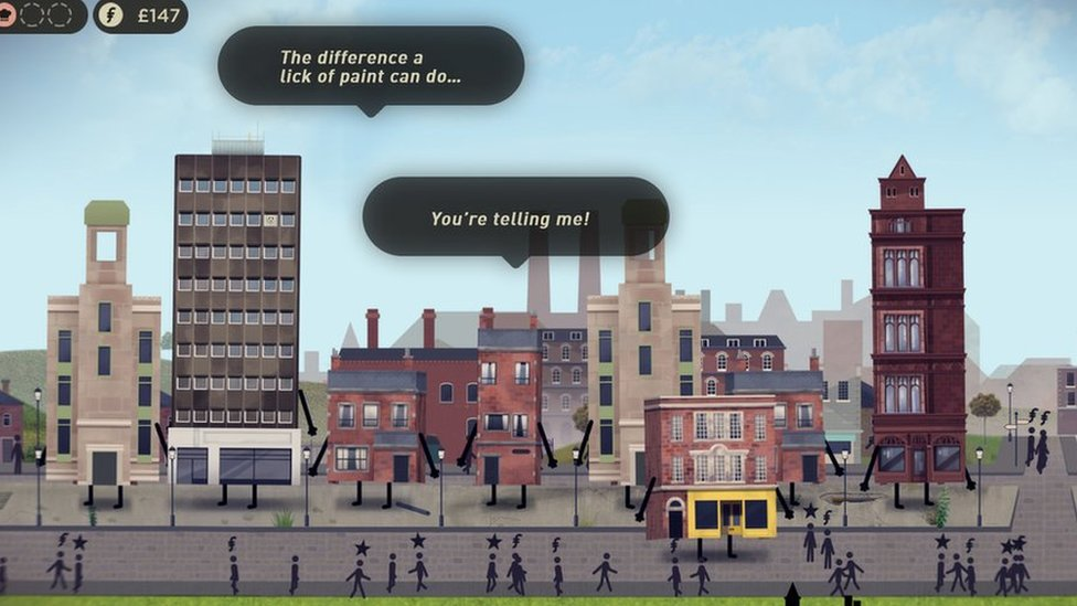 Buildings Have Feelings Too has been produced by Blackstaff Games