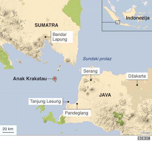 mapa regiona