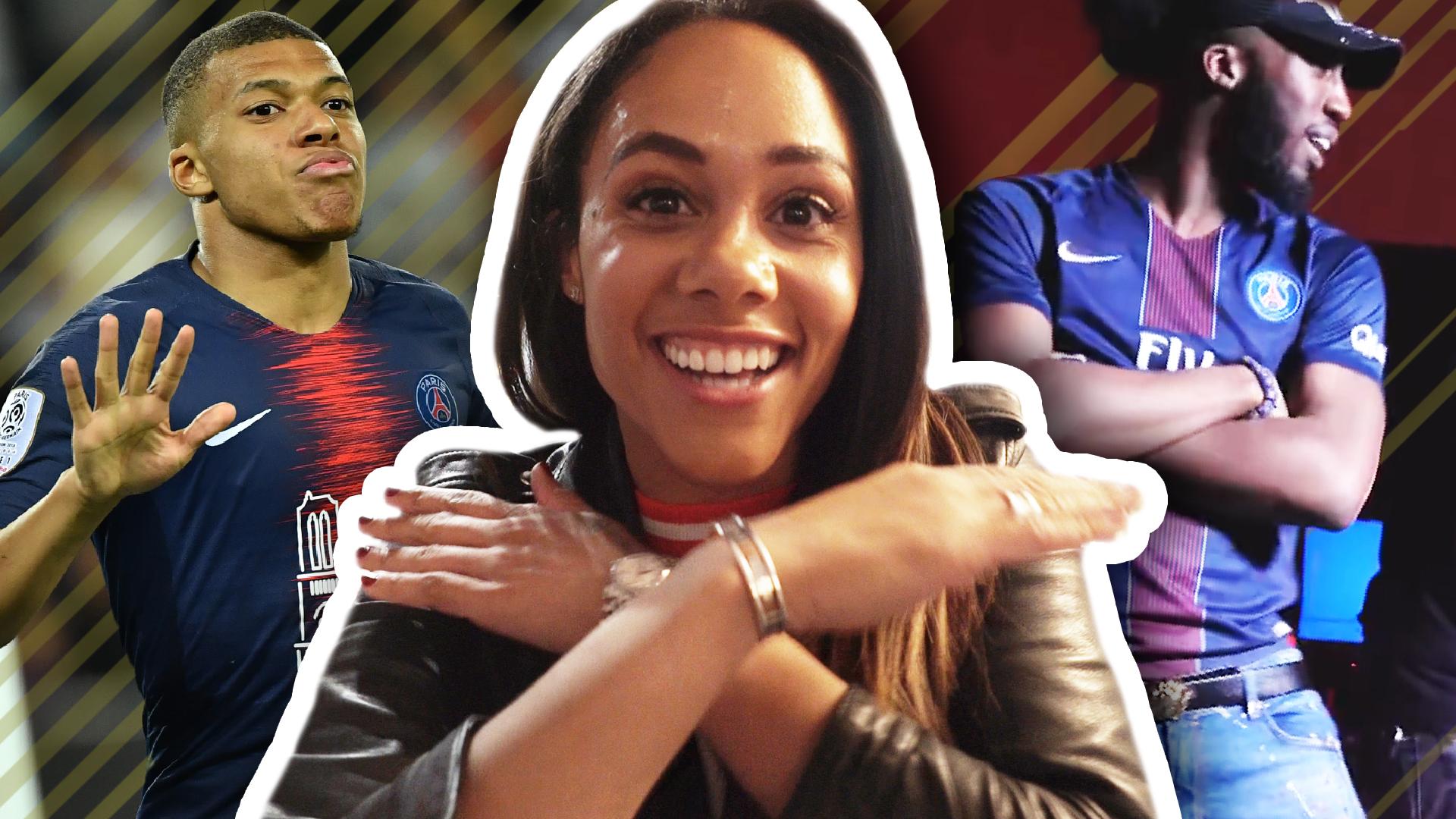 Women's World Cup: Alex Scott talks French hip hop with JXSE