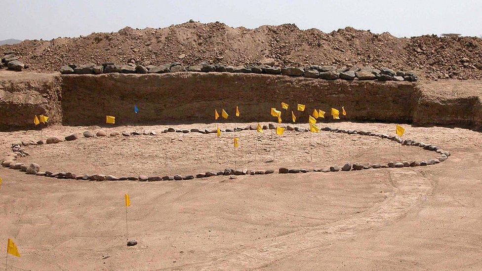 Sitio de excavación en Etiopía