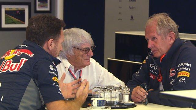 Formula 1: Red Bull having good think - Ecclestone