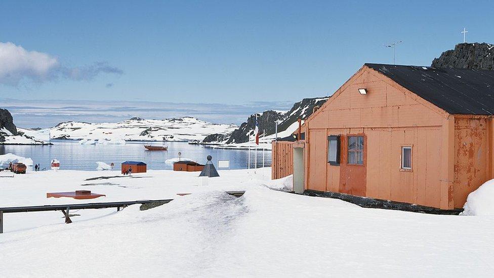 Base Eduardo Frei en Antártica