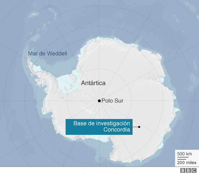 Gráfico Antártica