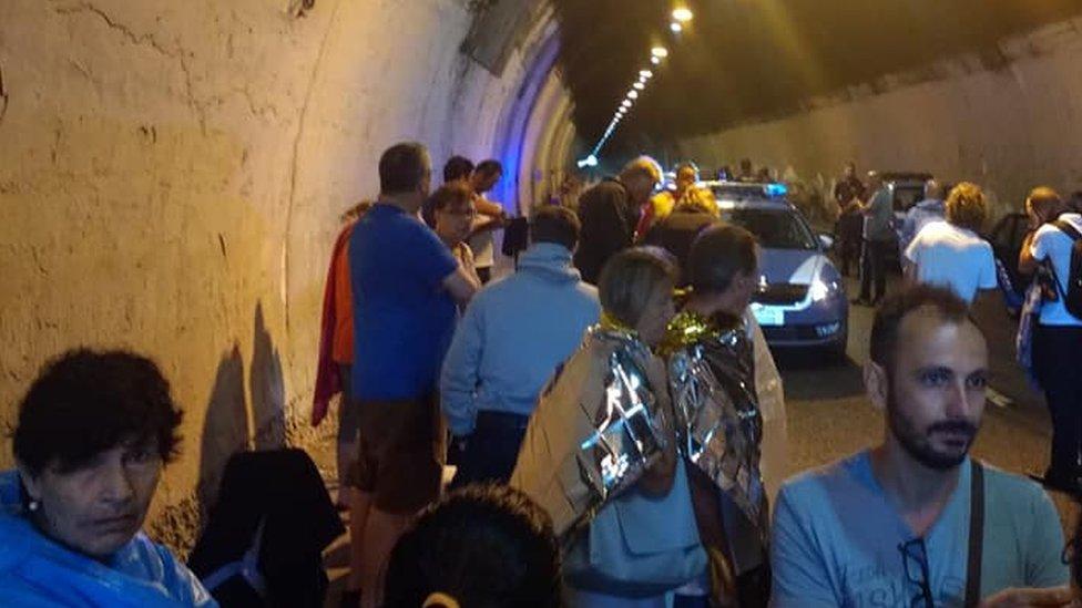 Italy bridge collapse: 'Everyone was screaming to run'