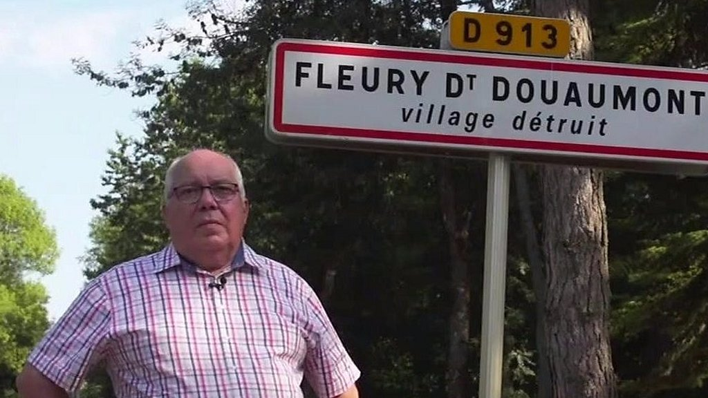 Meet the mayor of a French World War One 'ghost village'