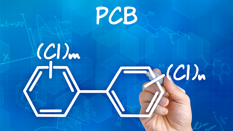 Chemical formula of PCB