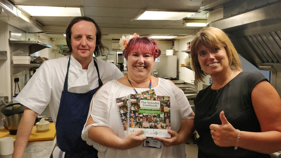 Cancer cookbook inspired by patients' loss of taste