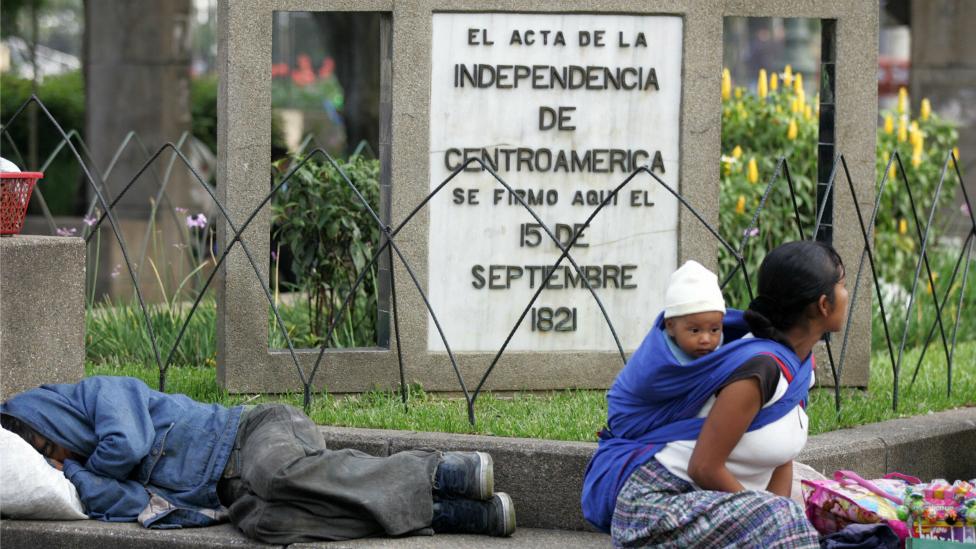Indígenas en Guatemala
