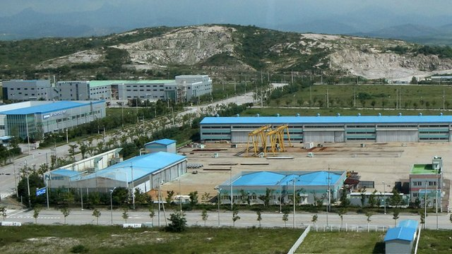 Kaesong industrial park