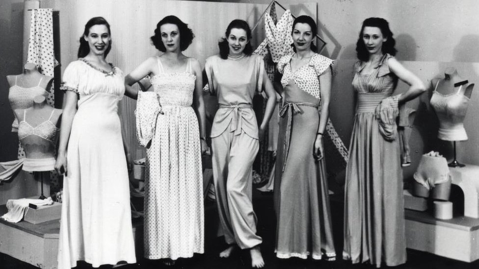M&S archive images chart the history of the bra