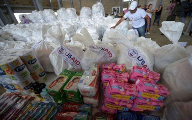 Donaciones internacionales en Cúcuta