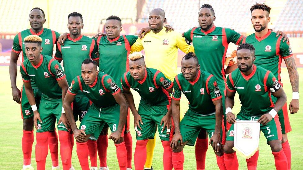 Burundi football team