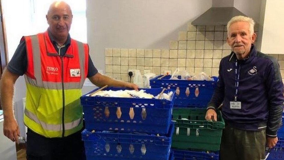 Ammanford food bank 'blown away' by anonymous donation