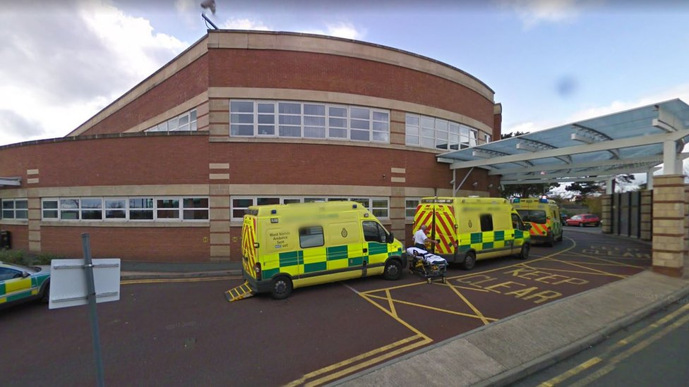 Worcestershire Royal Hospital's ambulance wait 'catastrophe'