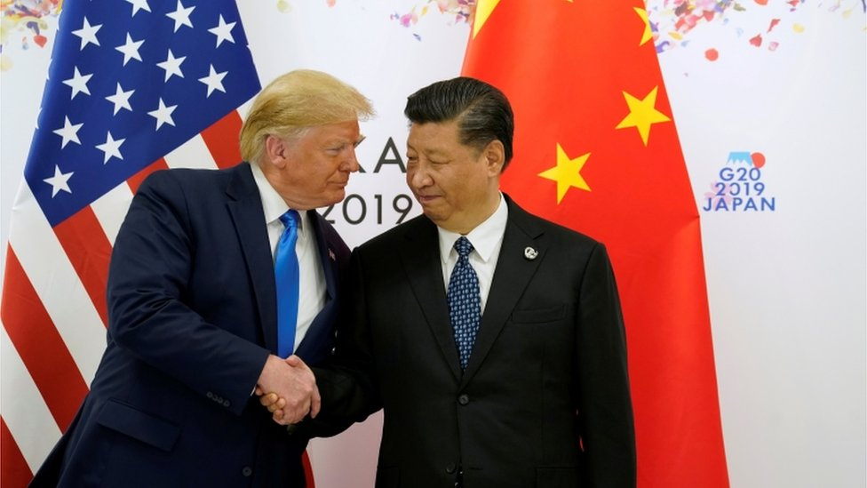 الرئيسان الصيني وألمريكي