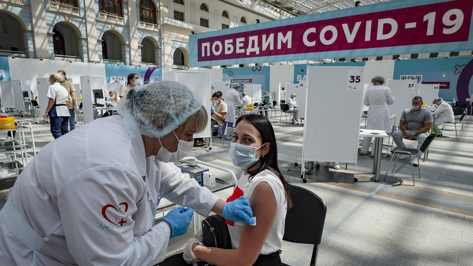 Vakcinaciя v Moskve