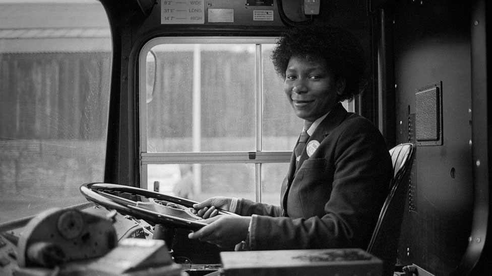 South Yorkshire Passenger Transport's first black woman bus driver