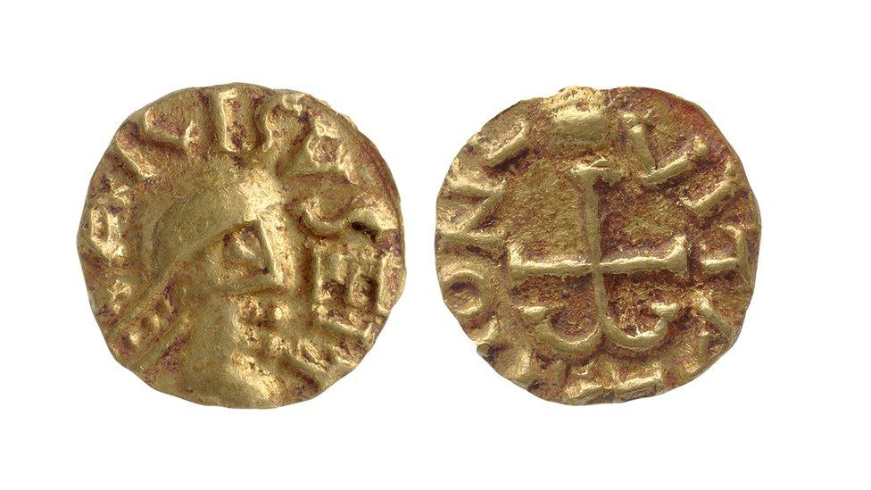 Monedas de oro.