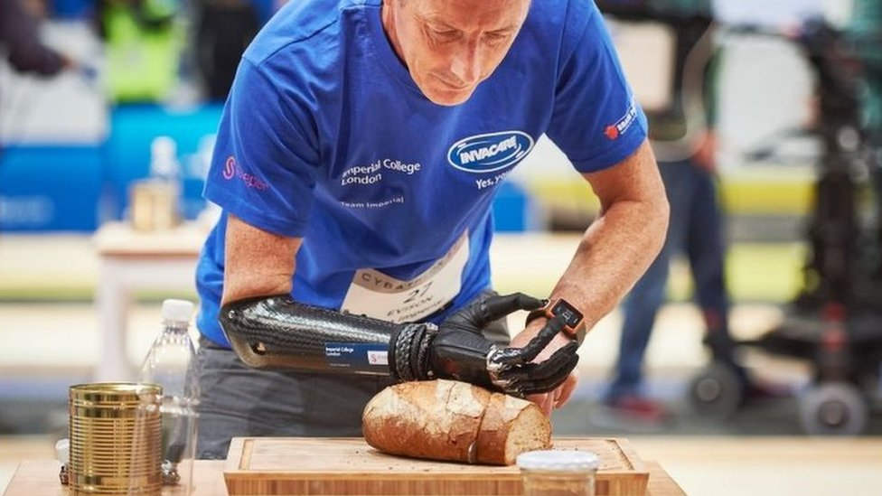 Kevin Andrew Evison at Cybathlon