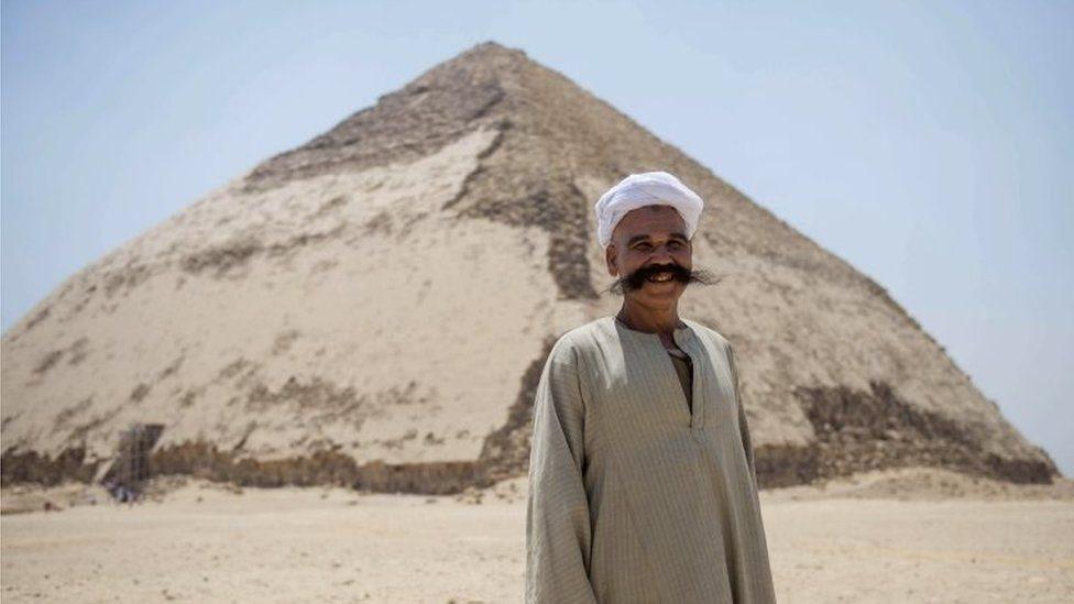 मिस्र का ये पिरामिड अब आम लोगों के देखने के लिए खोला गया है-तस्वीरों में देखिए
