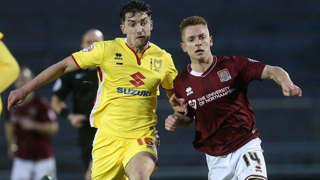 Northampton 2-2 MK Dons highlights