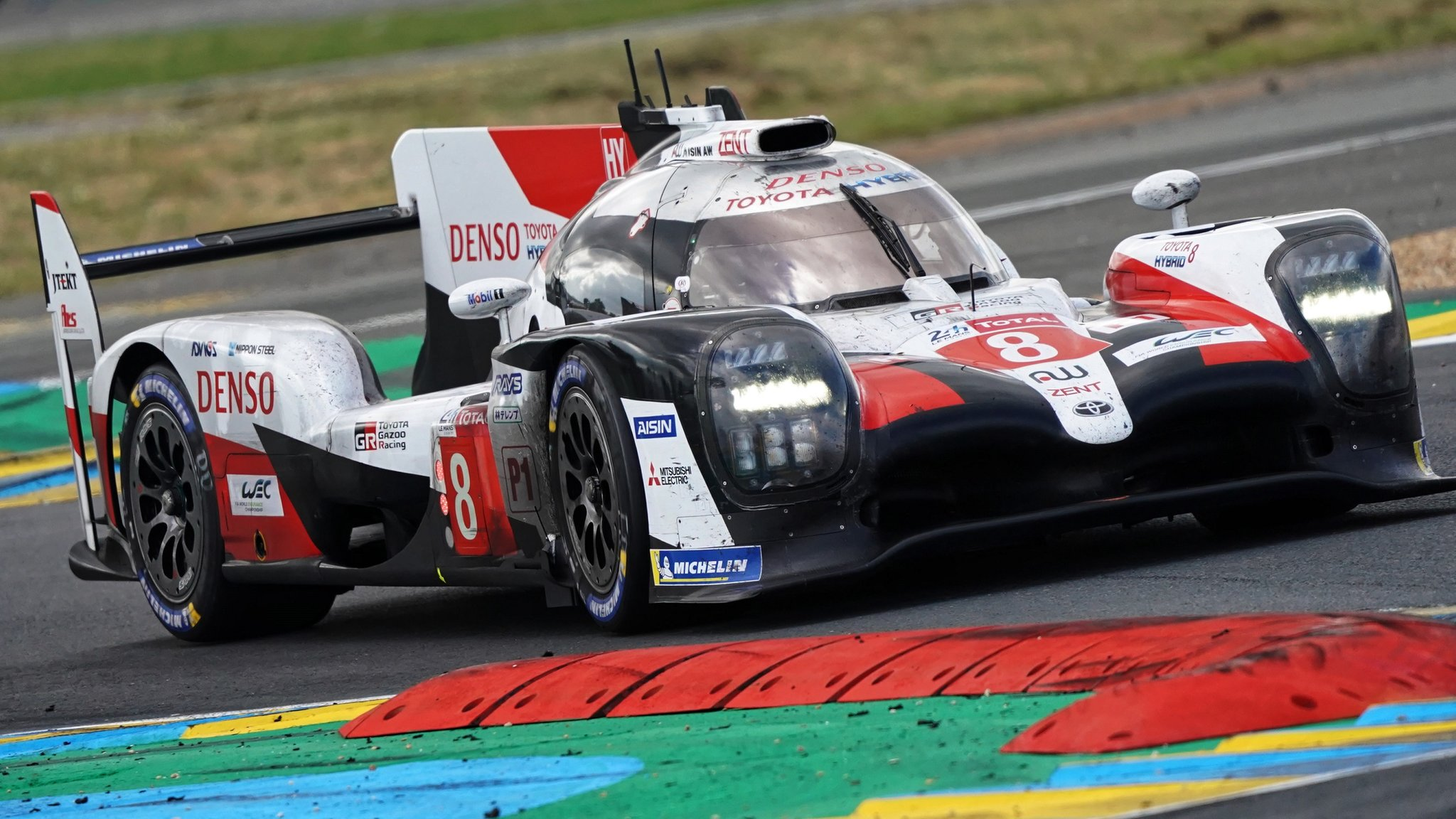'Maybe we don't deserve it but we take it' - Alonso wins Le Mans for second time