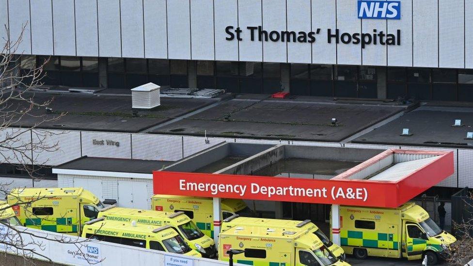 Hospital en Londres.
