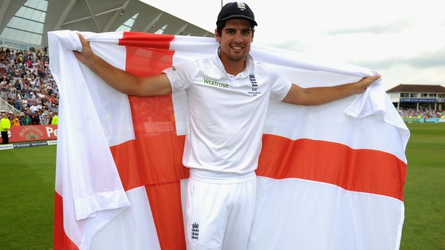 The Ashes 2015: Alastair Cook celebrates victory