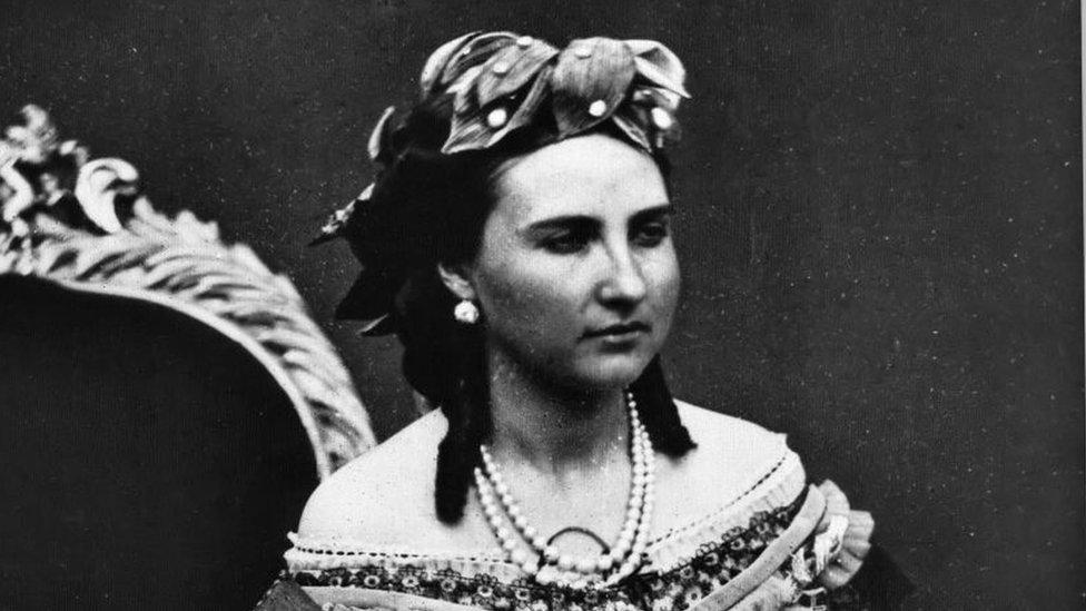 La emperatriz Carlota de México