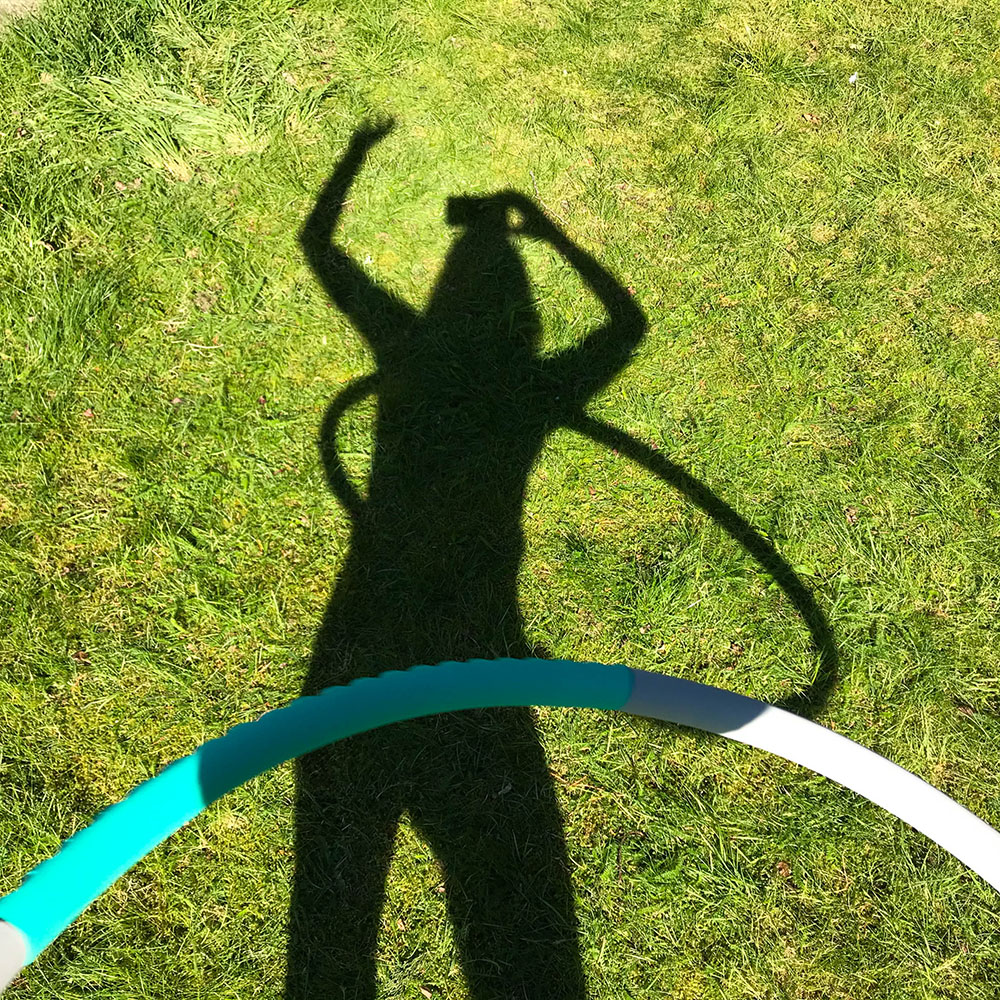 žena s hulahopom