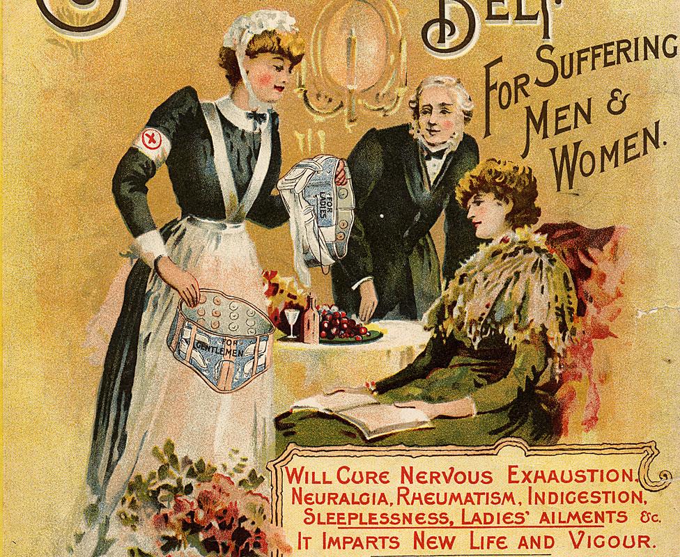 Cartel publicitario circa 1880