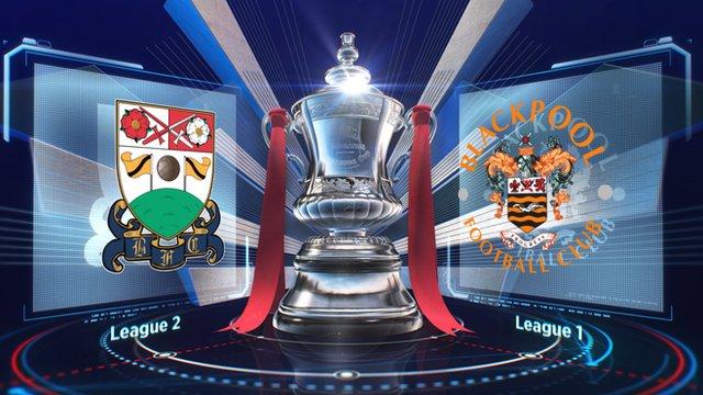 Barnet 2-0 Blackpool