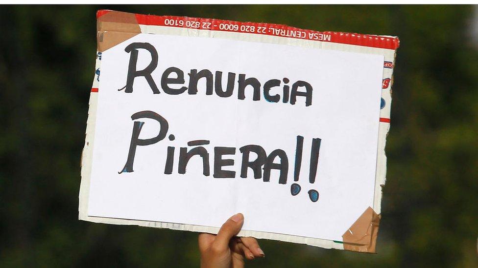 protestas chile