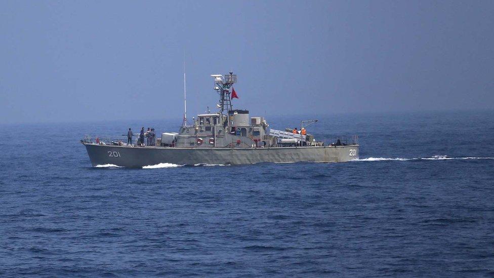 صورة من الأرشيف لسفينة إيرانية.