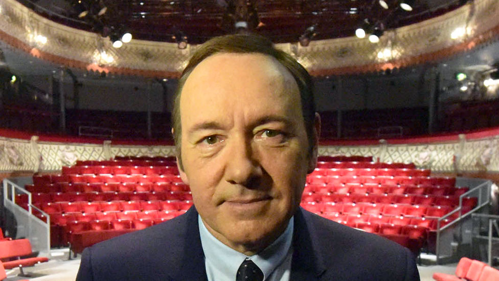 Kevin Spacey in the Old Vic