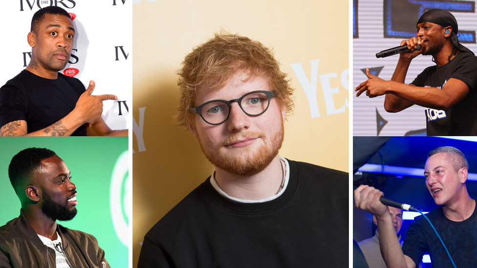 BBC News - Ed Sheeran's No. 5 Collaborations Project: The album you might not know about